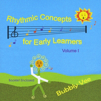 CD Cover - Early Childhood Songs in PA and NJ